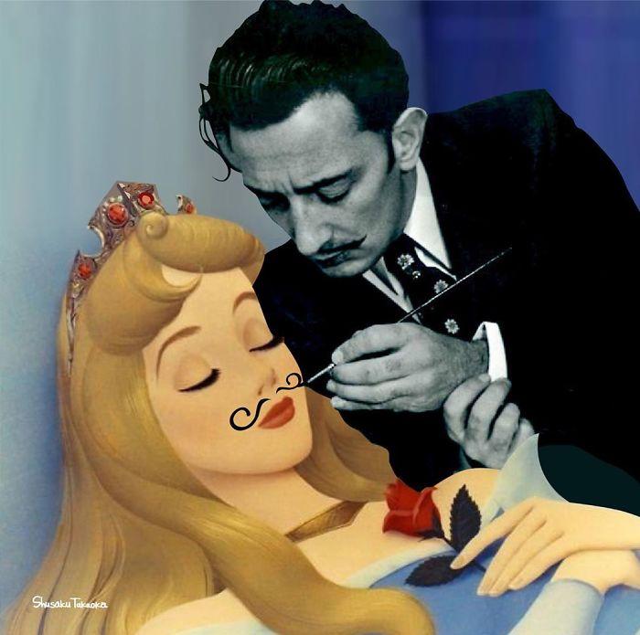 Ilustratii Disney Shusaku Takaoka